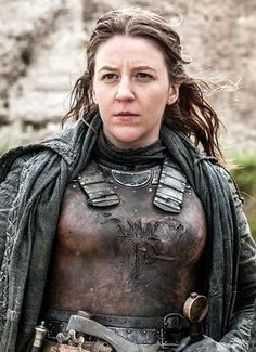 Asha Yara Greyjoy - Game of Thrones, played by Gemma Whelan GoT Dessin Game Of Thrones, Arte Game Of Thrones, Game Of Thrones Facts, Game Of Thrones Quotes, Game Of Thrones Funny, Costumes Game Of Thrones, Carl The Walking Dead, Game Of Thrones Instagram, Got Costumes