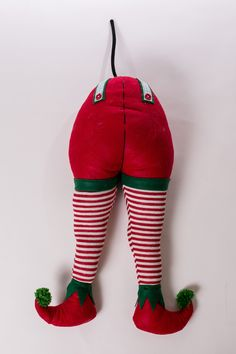 "19"" Fabric Elf Behind & Legs"