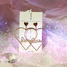 Tiffani Roolia Cute Jewelry, Jewlery, Korean Earrings, Earring Box, Pink Accessories, Luxury Jewelry, Ear Piercings, Fashion Bags, To My Daughter