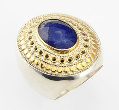 A totally unique cocktail ring to dress up any look