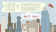 The Cincinnati Public Library used book sale.