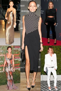 Nicole Richie Redcarpet Style - Nicole Richie Red Carpet Looks 2013 - Harper's BAZAAR Magazine