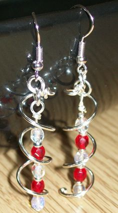 Angels-own Handmade: Spiral Earring Tutorial