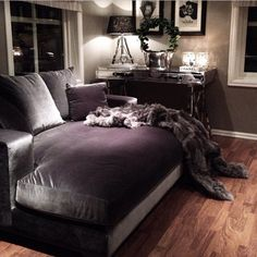 36 Ideas Artificial Lighting Interior Design For 2019 Bedroom Lighting, Bedroom Decor, Bedroom Bed, Bedroom Ideas, Bed Room, Master Bedroom, Dark Blue Bedrooms, Deep Couch, Kids Bedroom Storage