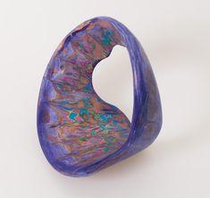"Matt Stone - Bells of the Void, 2014 wood and enamel paint 12"" x ""12 x 8"""