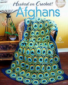 Hooked On Crochet! Afghans Patterns Annie's #Annies