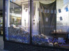 Crocodile Tears: cool window display