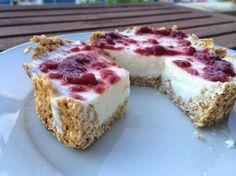 1 REFLEJO EN EL ESPEJO + #VIVESANO +: Tarta de queso fit