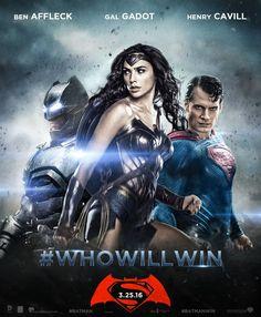 Batman v Superman - Poster by DanielWarner123