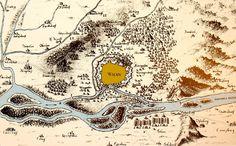 1683. DIE TÜRKEN VOR WIEN | DOPPELADLER.COM Pillars Of Eternity, The Siege, Historical Maps, Vienna, Vintage World Maps, History, Ottoman Empire, Forts, Battle