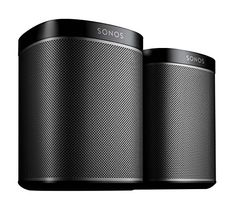 SONOS PLAY:1 2-Room Streaming Music Starter Set Bundle (Black)