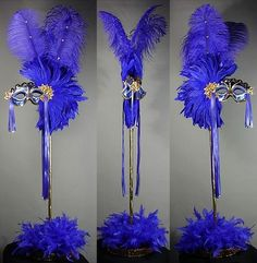 Simple yet beautiful masquerade feathered mask centerpieces. Simple yet beautiful masquerade feathered mask centerpieces. Masquerade Party Centerpieces, Mardi Gras Centerpieces, Feather Centerpieces, Mardi Gras Decorations, Centerpiece Ideas, Balloon Centerpieces, Wedding Centerpieces, Centrepieces, Wedding Decor