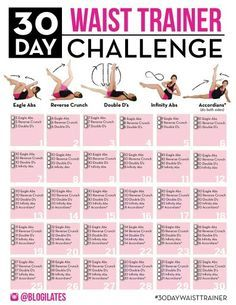 30 day abs challenge core