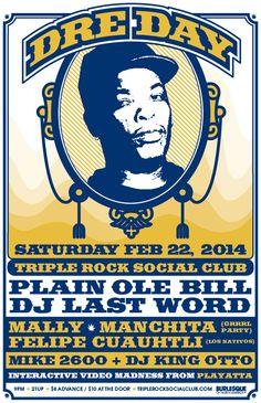 Dre Day at the Triple Rock Social Club