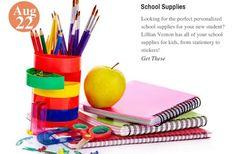 Back=To=School Essentials School Supplies: www.teelieturner.com #schoolsupplies