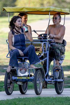 February 2: Selena at a park in LA
