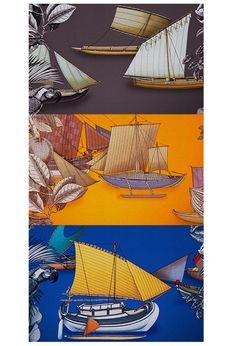 """L'application """"Silk Knots"""" d'Hermès http://www.vogue.fr/mode/experiences-digitales/diaporama/experiences-digitales-semaine-du-21-octobre/15829"""