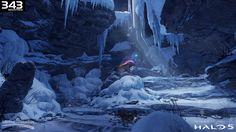 Halo 5 Environment Art, Jonathan Lindblom on ArtStation at https://www.artstation.com/artwork/wO4r5