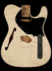 I plan now (and this I just decided recently) to build my own Telecaster. I adore the thinline Standard Tele with the F-hole design. This is the body I wish to purchase! Fantastic isn't it?!!