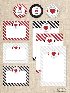 Love on Valentines Day Free Printables