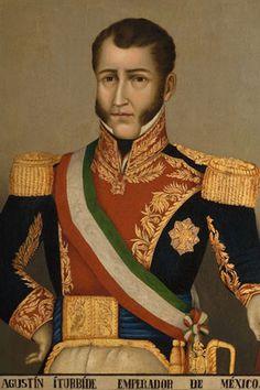 Retrato de Agustín De Iturbide Autor desconocido Siglo XIX Óleo sobre tela 86 X 76 cm. Colección Museo de Historia Mexicana