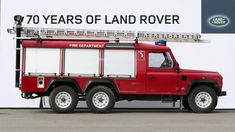 Here are some of Land Rover's wackiest and coolest Ambulance, Land Rover Discovery 2, 6x6 Truck, Land Rover Models, Land Rover Freelander, Lifted Ford Trucks, Jeep Wrangler Unlimited, Pontiac Gto, Mechanical Engineering