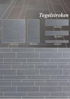Tegelstroken 5 10 15 x 60 cm Niro Granite