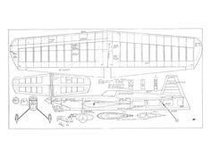 Gieseke Nobler by Bob Gieseke 1968 - plan thumbnail Stunt Plane, Plan Sketch, Plan Drawing, P51 Mustang, Model Airplanes, Radio Control, Plans, Stunts, Wood Projects