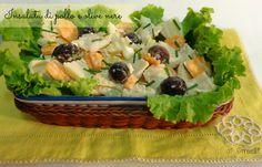 insalata di pollo e olive nere ricetta insalata estiva con pollo