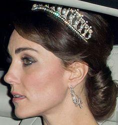Tiara Mania: Queen Mary of the United Kingdom's Lover's Knot Tiara worn by the Duchess of Cambridge