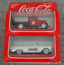 1:43 Solido Coca Cola 1936 Ford V8 Flatbed Truck & 1957 Ford Cadillac Eldorado Cadillac Eldorado, Coca Cola, Ford V8, Trucks, Games, Toys, Activity Toys, Coke, Clearance Toys