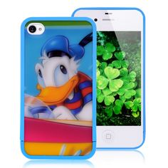 iPhone 4 case - Donald Duck  #cool #iPhone  #cases #back #covers #awesome #cheap #free #shipping #fashion #phone #accessories