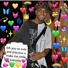 Ski Mask, Smile Everyday, Rap Wallpaper, Cute Love Memes, Rap Quotes, Evil Twin, I Love You Forever, Relationship Memes, Wholesome Memes