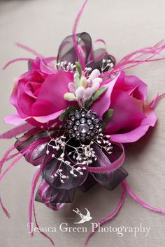 corsage with Bling <3