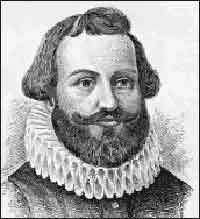 The militia of the Plymouth Colony elected Myles Standish as Commander. image: The House of Standish - the French Connection Today In History, My Family History, Mayflower Compact, Stephen Hopkins, Plymouth Colony, Figure Photo, Exploration, My Ancestors, Declaration Of Independence
