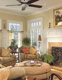 southern living home interiors | Southern Living Idea House 2003 | Steiner Design Interiors