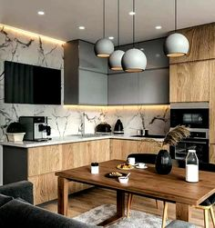 modern kitchen room are readily available on our site. Read more and you wont be sorry you did. Contemporary Kitchen Cabinets, Modern Kitchen Interiors, Home Decor Kitchen, Home Kitchens, Kitchen Paint, Kitchen Ideas, Contemporary Kitchens, Modern Kitchens, Kitchen Modern