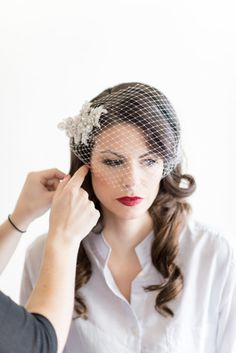 Flirty fair: http://www.stylemepretty.com/2015/11/01/moody-bridal-makeup-looks-made-for-a-fall-wedding/