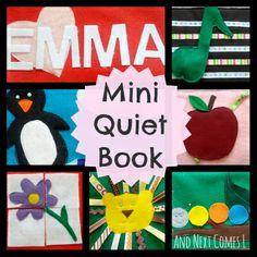 And Next Comes L: Emma's Mini Quiet Book