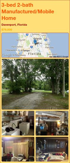 3 Bed 2 Bath Manufactured Mobile Home In Plant City Florida 89900 PropertyForSale RealEstate Magic Properties 856