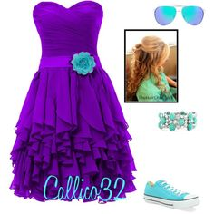 """""""8th grade dance #2"""" by callico32 on Polyvore"""