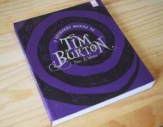 Minha paixão: Livro com os filmes lançados pelo Tim Burton, meu diretor favorito.