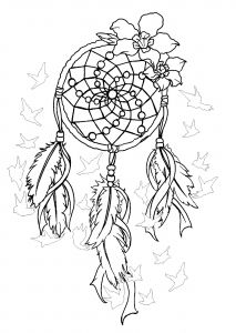Dreamcatcher Coloring Pages Dream Catcher Coloring Pages Dream Catcher Tattoo Design Dream Catcher Tattoo
