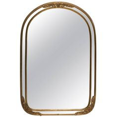 For Sale on - A small beautiful and substantial European brass wall or vanity size mirror, circa Century or earlier. Beautiful brass detail all around frame. Wall Mirrors Entryway, Small Wall Mirrors, Silver Wall Mirror, Rustic Wall Mirrors, Round Wall Mirror, Mirror Bedroom, Mirror Vanity, Vintage Mirrors, Sunburst Mirror