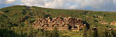 Ritz-Carlton, Bachelor Gulch, Beaver Creek.  Had the pleasure of eating lunch here one day while skiing and it was fabulous.  Love the upscale rustiness of this property.