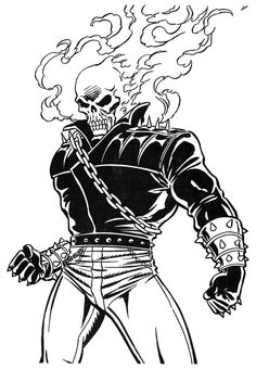 Ghost Rider Avengers, Lego Ghost Rider, Ghost Rider Motorcycle, Toy Story Coloring Pages, Super Coloring Pages, Superhero Coloring Pages, Ghost Rider Drawing, Ghost Rider Tattoo, Ghost Rider Pictures