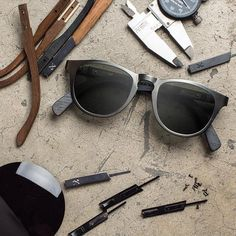662d578ffa15 Fancy - Francis Gun Metal Titanium/Walnut Sunglasses by Shwood