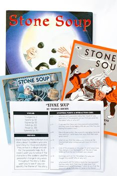 I love having my students read Stone Soup around Thanksgiving! There are so many great activities to do with students focusing on literacy and community. Read the post to see some of them!  #Thanksgiving #StoneSoup #FirstGradeActivities #firstgradereading