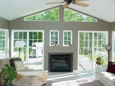 Love The French Doors Opening Into The 4 Season Room Project Porch Pinterest Home French
