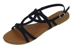 Shoes 18 Womens Strappy Roman Gladiator Sandals Flats Thongs Shoes (6, Black 2226) Shoes8teen http://www.amazon.com/dp/B00I5SGV9I/ref=cm_sw_r_pi_dp_CTj9ub1BGA808